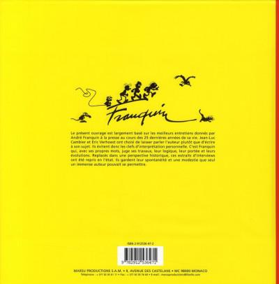 Dos le monde de franquin ; catalogue de l'expo