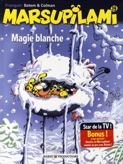 image de marsupilami tome 19 - magie blanche