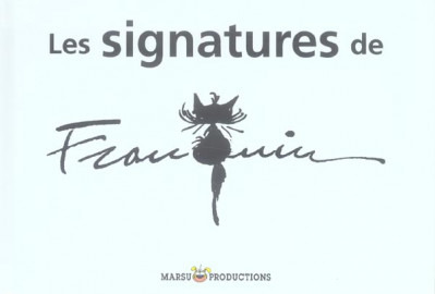 Couverture les signatures de franquin