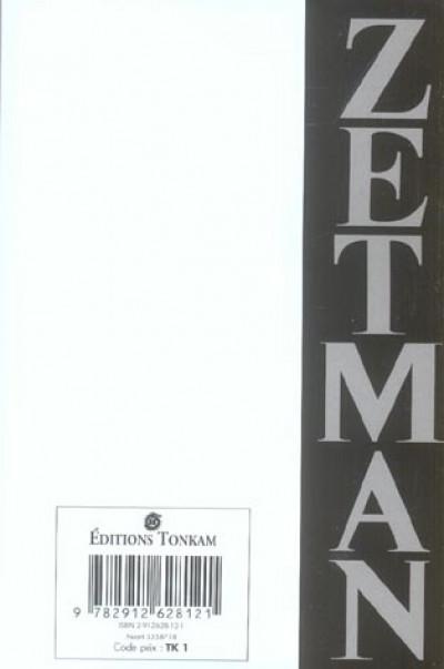 Dos zetman ; recueil
