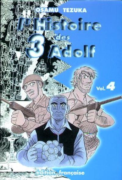 Couverture L'histoire des 3 Adolf tome 4