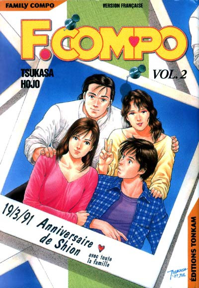 Couverture Family Compo tome 2