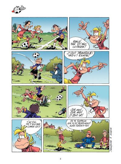 Page 4 les footmaniacs tome 1 - allez les bleus