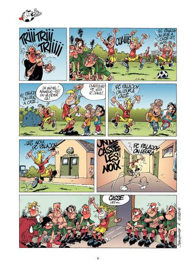 Page 8 les footmaniacs tome 1 - allez les bleus