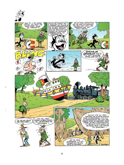 Page 4 Hercule tome 1 - bazar de grumlots
