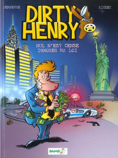 image de Dirty Henry tome 1 - nul n'est censé ignorer ma loi