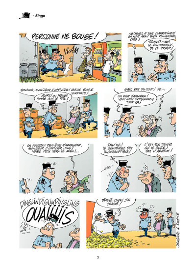 Page 2 les gendarmes tome 4 - amende honorable