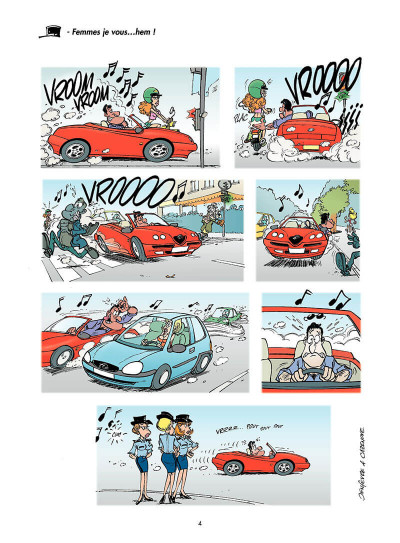 Page 3 les gendarmes tome 4 - amende honorable