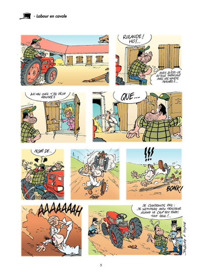 Page 4 les gendarmes tome 4 - amende honorable