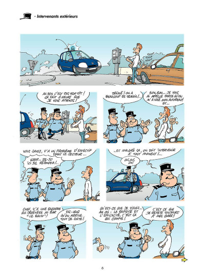 Page 5 les gendarmes tome 4 - amende honorable