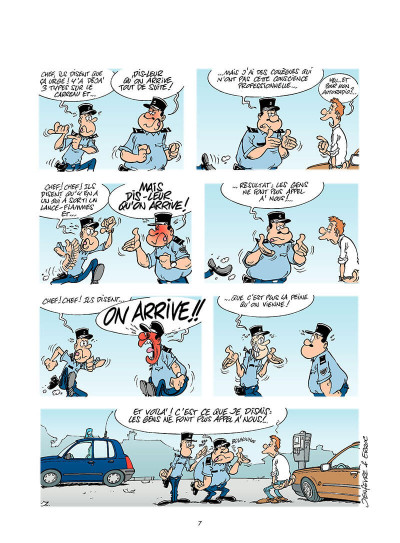 Page 6 les gendarmes tome 4 - amende honorable