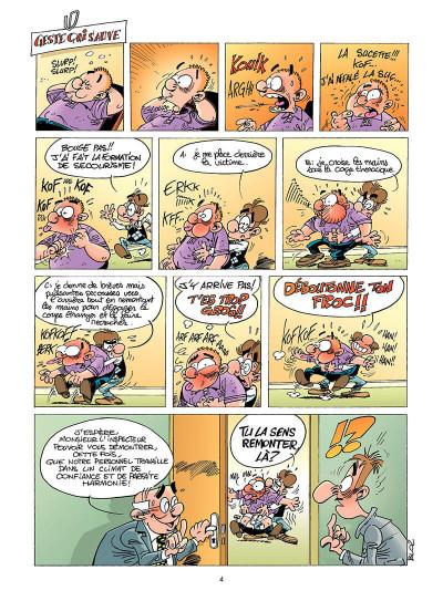 Page 5 les fonctionnaires tome 2 - reduction du temps de travail