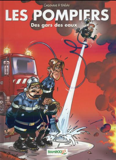 image de les pompiers tome 1 - des gars des eaux