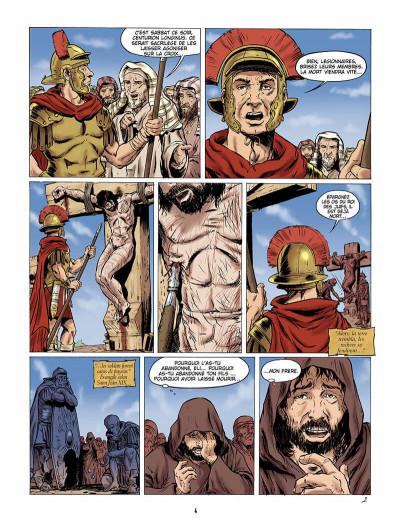 Page 3 le messager tome 1 - la sainte lance