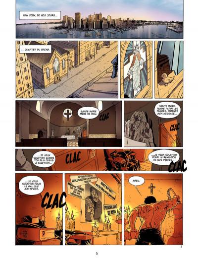 Page 4 le messager tome 1 - la sainte lance
