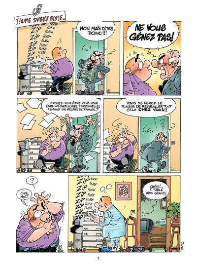 Page 4 les fonctionnaires tome 3 - travail à la chaine