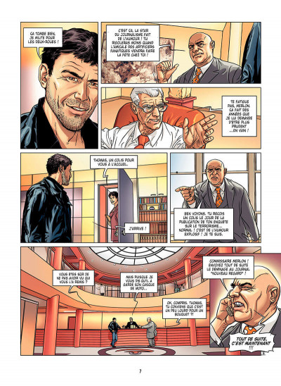 Page 8 thomas silane tome 1 - flash mortel