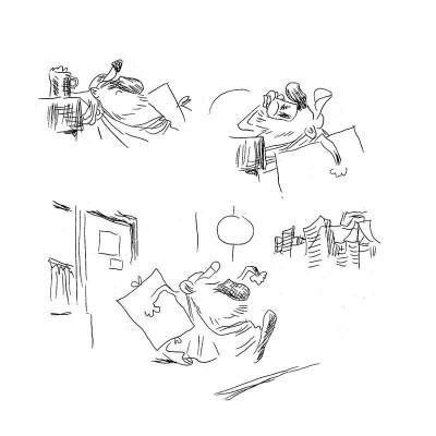 Page 5 le sens de la vis ; larcenet