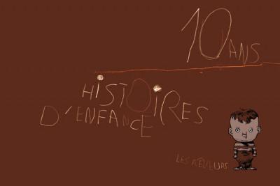 Couverture 10 ans histoires d'enfance (éd. 2008)