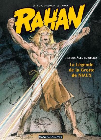 Couverture rahan tome 10 - la légende de la grotte de niaux