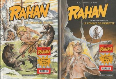 image de Rahan tome 7 et tome 8 - coffret Noël