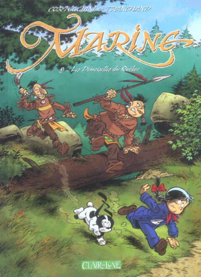 Couverture Marine tome 9
