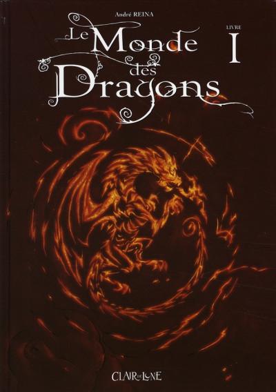 Couverture le monde des dragons tome 1