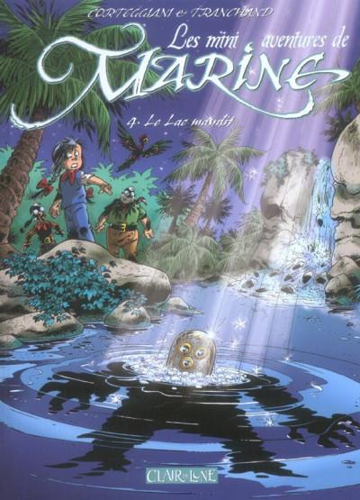 image de Les mini aventures de Marine tome 4 - le lac maudit
