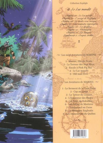 Dos Les mini aventures de Marine tome 4 - le lac maudit