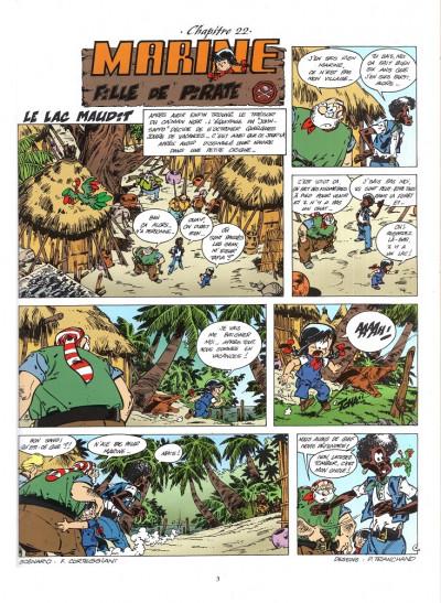 Page 1 Les mini aventures de Marine tome 4 - le lac maudit