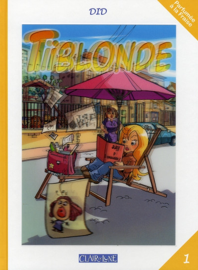 Couverture tiblonde tome 1