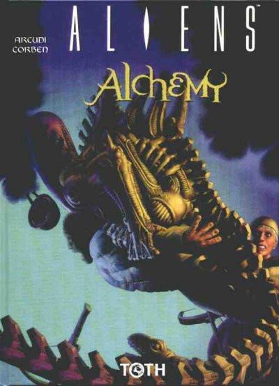 Couverture aliens alchemy