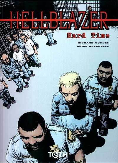 Couverture hellblazer tome 1 - hard time