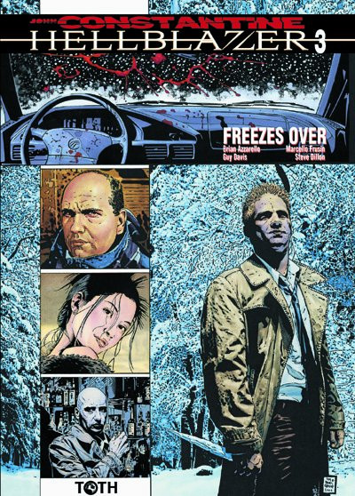 Couverture hellblazer tome 3 - freezes over