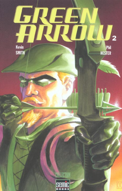 Couverture Green arrow (semic) tome 2
