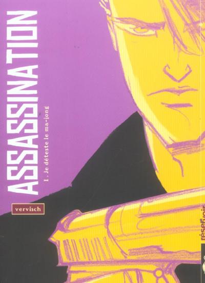 Couverture assassination tome 1 - je déteste le ma-jong