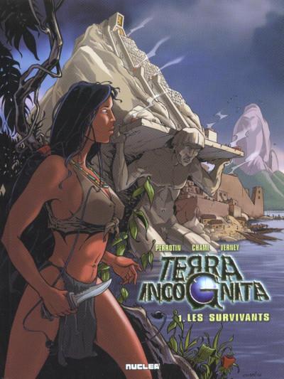 Couverture Terra incognita tome 1 - les survivants