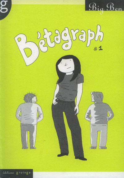 Couverture betagraph tome 1