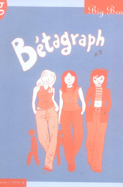 Couverture betagraph tome 3