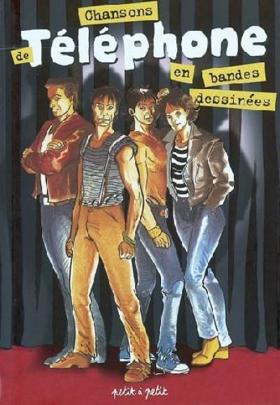 Couverture chansons de ; téléphone en bandes dessinées