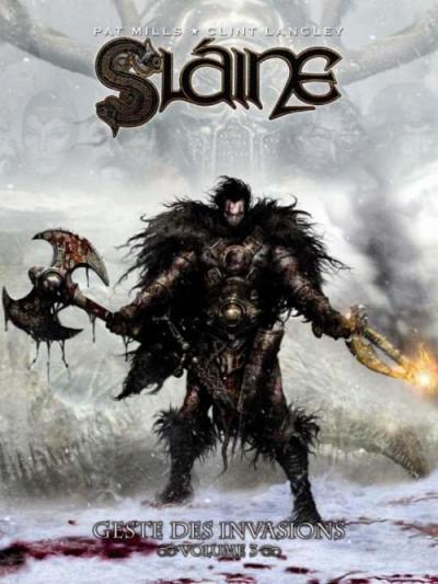 Couverture Slaine tome 3 - geste des invasions