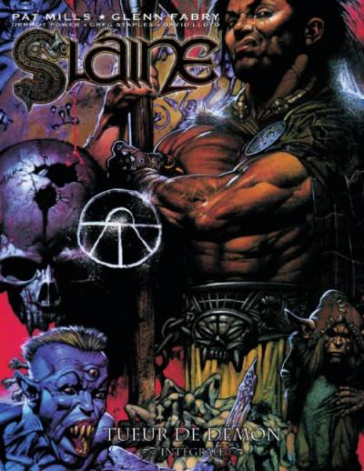 Couverture Slaine - intégrale tome 2 - tueur de démon