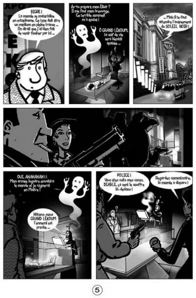 Page 1 les très étranges et très inopinées aventures d'auguste louis chandel tome 1