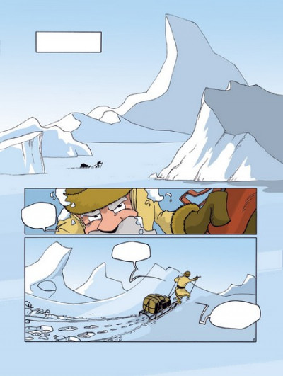 Page 1 junior l'aventurier tome 6 - antarctique