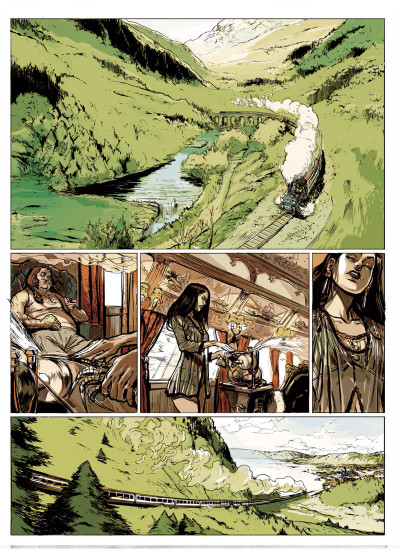 Page 1 Lady McLeod tome 2