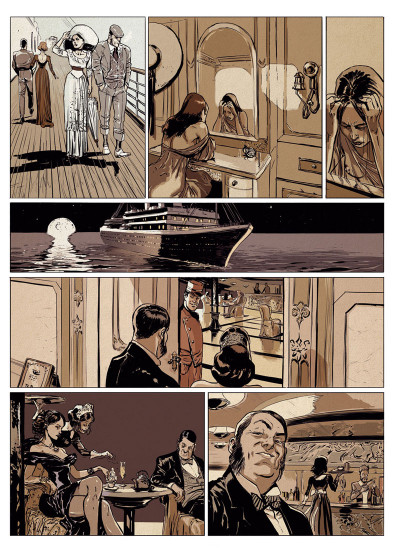 Page 3 Lady McLeod tome 2