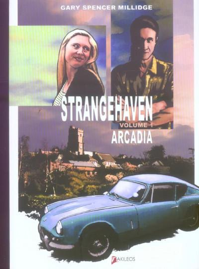 Couverture strangehaven tome 1 - arcadia