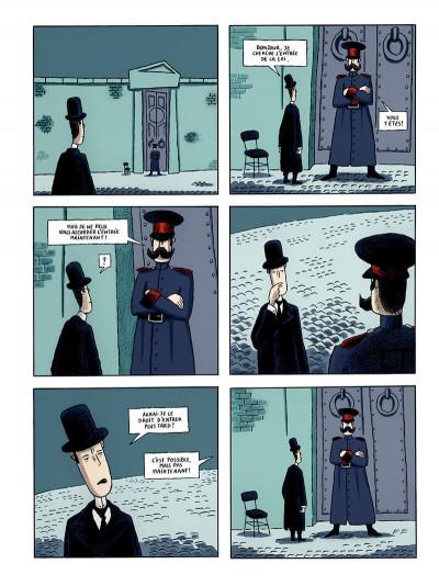 Page 4 le procès, d'après franz kafka