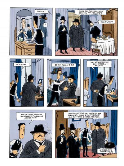 Page 6 le procès, d'après franz kafka