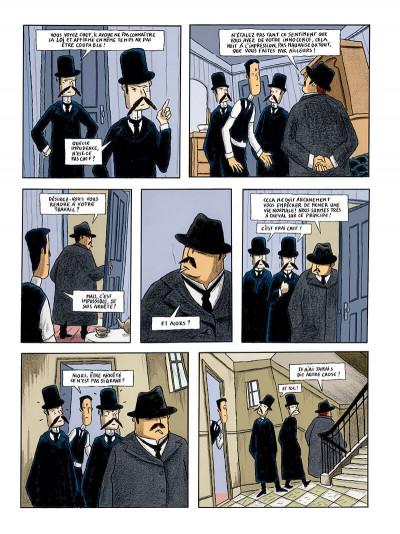 Page 7 le procès, d'après franz kafka